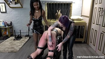 What A Sensitive Ass! - Spanking By Gorgeous Lady Wolf And Goddess Valkyrie