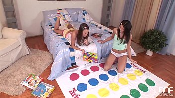 Euro Teen Erotica - College Teens with playmate bodies go Lesbian 19 min