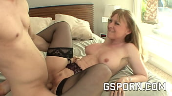 Busty Mature Blonde Nina Hartley Fucked By A Young Cock 29 Min