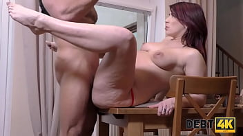 DEBT4k. Debt collector will give the woman time in exchange 8 min