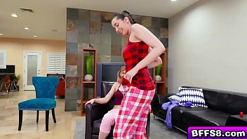 The Lucky Dude In A Lesbo Pajama Party Gets The Time Of His Life