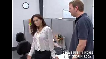 Horny office worker gets her dues