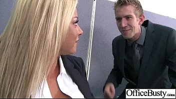 Big Melon Tits Girl (britney shannon) Get Bang Hardcore In Office clip-11