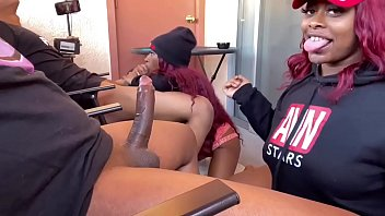 Double blowjob double blunts TheJuicyExperience & Mini stallion