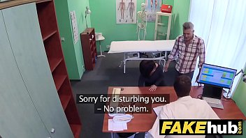 Fake Hospital Czech doctor cums over horny cheating wifes tight pussy thumbnail