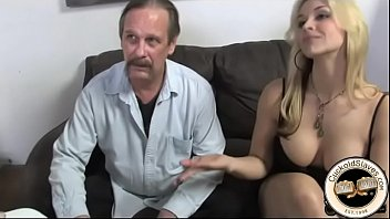 Blonde tells hubby she wants to have a black lover
