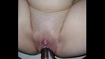Big black dick fuckin small white girl