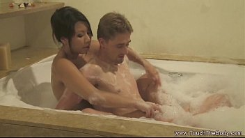 Sensual Soapy Massage For Intimate Lovers