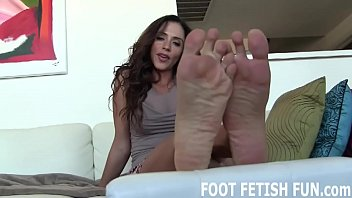 I know how addicted to my feet you are
