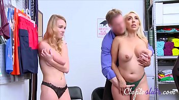 Hot Mom & Teen Daughter Caught Stealing & Forced- Kylie Kingston & Natalie Knight thumbnail