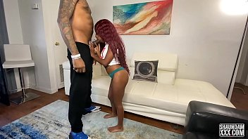 MINI STALLION MEETS SHAUNDAMXXX AND RIDES THAT BBC
