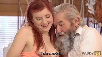 Streaming Video daddy4k redhead loves the way bf and his old dad worship her cunny - XLXX.video