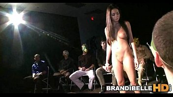 Brandi Belle and Gorgeous Japanese Friend Modeling Before Fucking
