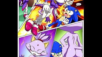 The sonaze beginning porn comic sonic