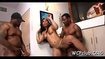 Free internet porn sex movies Sexual bitch feels chocolate shlong entering her tight anal