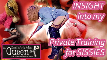 Sissy Training - Insight into my private training for sissies (What does online training look like)