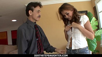 DirtyStepDaughter - Allie Haze Scolded Then Fucked By Step Dad