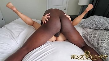 Mature asian booty pic Superior dick wielding sexmaster bones montana wakes up to his hot asian alarm clock song lee and clap dem cheeks