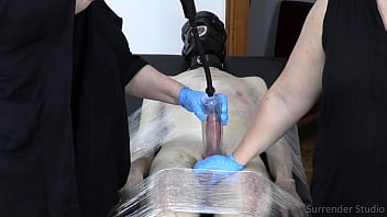 Edging And Orgasm Denial Session Conclusion From Lady Dalia And MsREDStripe