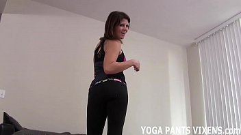 I will let you watch me do my yoga while you jerk off JOI