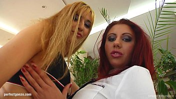 Spermswap delivers Ramona & Krystal to fuck and share sperm after hardcore sex
