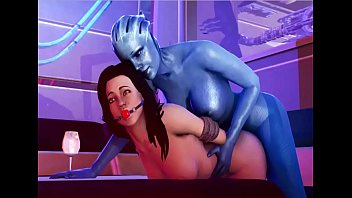 Naked alien in mass effect Mass effect - bang liara tsoni