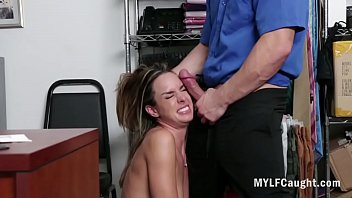 Sad Milf Forced  Fucked By Cop After Stealing After Stealing