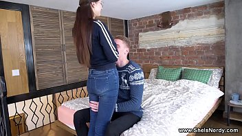 She Is Nerdy - Casual anal with cute coed Selena
