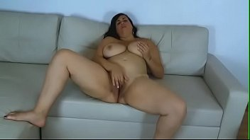 Nataly drills herself with a dildo before getting shafted by a black dick
