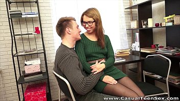 Casual Teen Sex - Sex Iva Zan With Cumshot On Glasses Teen Porn