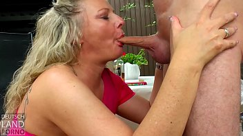 Milf drink and fuck outside ....