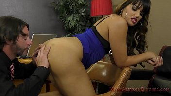 Mercedes Carrera Makes Her Lawyer Lick Her Ass