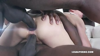 Candice enjoys black cocks for the first time IV350