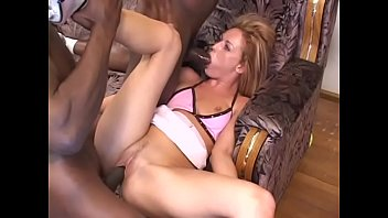 Fair-haired school miss Donna Marie was situated in the wrong place at wrong time in the ghetto and she had to spread her legs for couple of big black schloengs