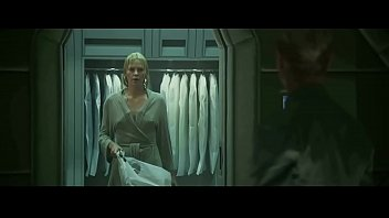 Charlize theron in a bikini topless Charlize theron in prometheus 2012