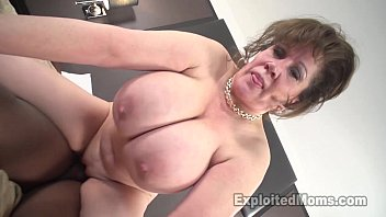 White mature women and huge black cocks Cougar does first interracial black cock video