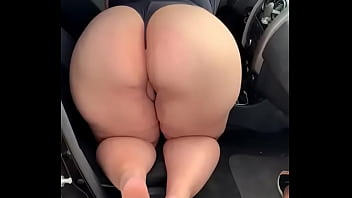 Hotwife plus size makes the cuckold cum and doesn't let him put it in her big ass.