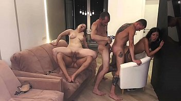 Part 3 Girls Served 3 Cocks And Were Covered In Cum Katty West And Oliver Strelly 12 Min