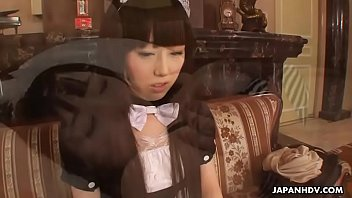 Japanese maid, Machiko Ono is well knows for fucking uncensored