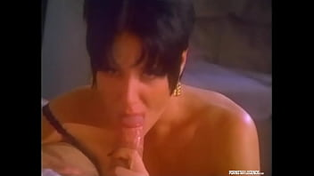 Classic Pornstar Jeanna Fine Is In Mike Horner's Dreams Giving Him A Blowjob