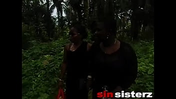 HE CAUGHT ME AND MY SIN SISTERZ IN THE BUSH TRACK COMING BACK FROM THE NEXT VILLAGE AND HE PARADE US TO AN UNCOMPLETED BUILDING AND FUCKED US AFRICAN GIFT
