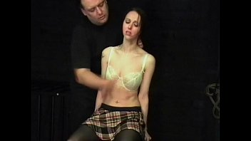 Spank face Face slapping and tongue punishment