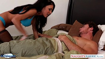 Busty brunette in stockings Jessica Jaymes gets fucked