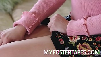 Kit Mercer and  Allie Nicole - Religious Foster Mom Teaches Her Daughter Obedience - FULL SCENE on http://MyFosterTapes.com