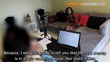 Young Black Teen Anal Casting Hardcore Painal 7 min