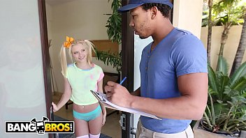 Big black dick in tiny pussy Bangbros - tiny blonde riley star almost gets split in half by ricky johnson
