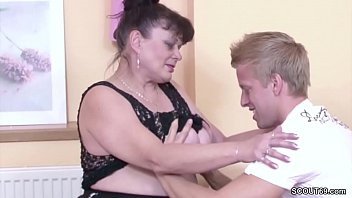 Virgin granny video German virgin young guy seduce granny to fuck for first time