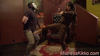 The Ultimate Brutal Ball Busting by Mistress Kikko The Vegas Dominatrix