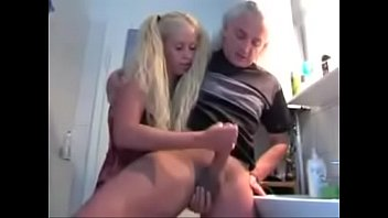She Milks Big Dick Grandpa - More at HornySexCams.us