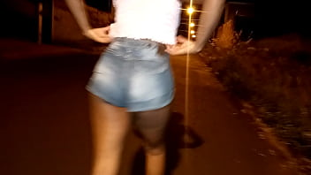 my little cousin alone on the street coming from the bailao took advantage of her hot urge @tropicalbrazil.official